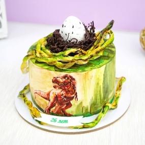 "Торт ""Яйцо динозавра"""