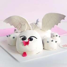 "Торт ""Белый дракон"""