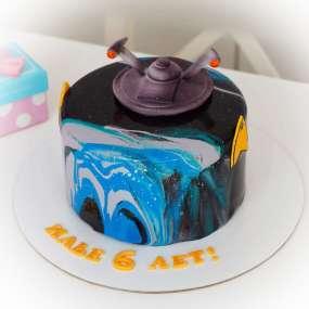 "Торт ""Летающая тарелка"""