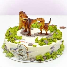 """Торт """"Два динозавра"""""""