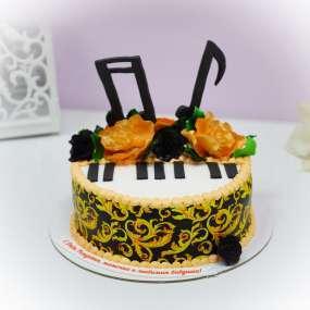 """Торт """"Пианино"""""""