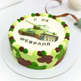 "Торт ""С танком 2 д"""