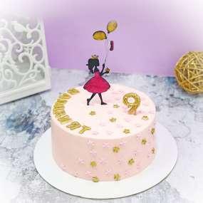 "Торт ""Топпер принцесса"""