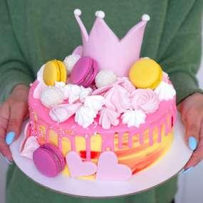 """Торт """"Корона для принцессы"""""""