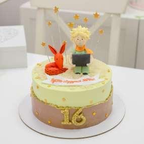 """Торт """"Маленький Принц и Лис"""" 1,5 кг"""