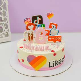 "Торт ""Популярный блогер"" 1,5 кг"