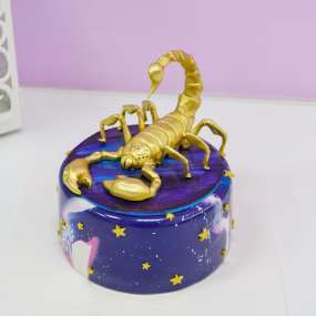 "Торт ""Космический Скорпион"" 1,5 кг"