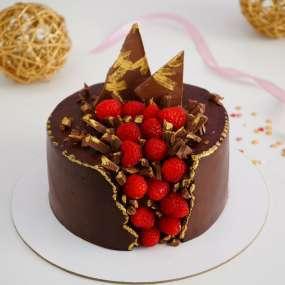 """Торт """"Малина в шоколаде"""" 1,5 кг"""