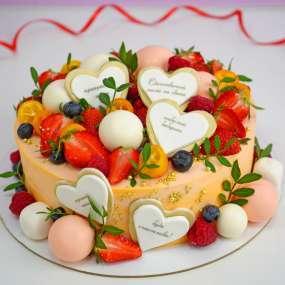 """Торт """"Ягодная любовь"""""""