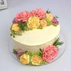"""Торт """"Сладкие розы"""""""