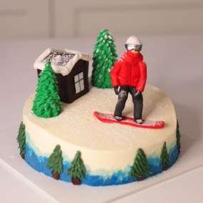"""Торт """"Сноубордист"""""""