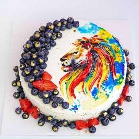 """Торт """"Гордый лев"""""""