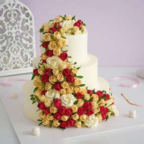 """Торт """"Роскошный букет"""""""