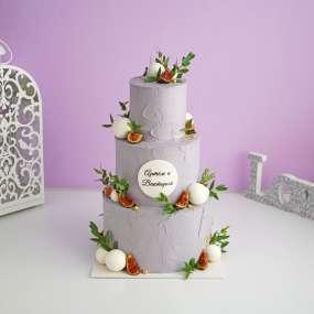 """Торт """"В духе минимализма"""""""