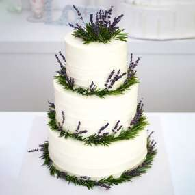 """Торт """"Цветки лаванды"""""""