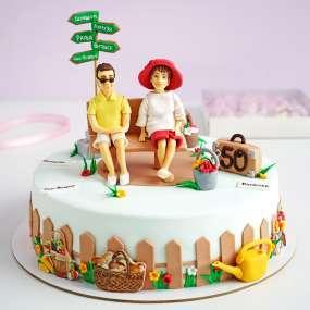 """Торт """"Супружеская пара"""""""
