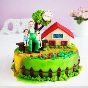 "Торт ""Любимому отцу"""
