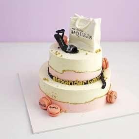 """Торт """"Высокая мода"""""""