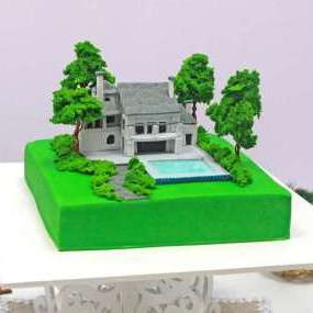 """Торт """"Загородный дом"""""""