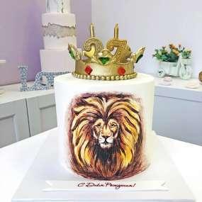 """Торт """"Царь зверей"""""""