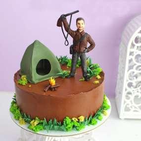 """Торт """"Бесстрашный охотник"""""""