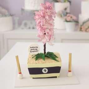 """Торт """"Любимый цветочек"""""""