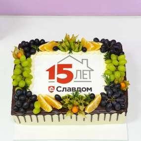 Белый торт славдом