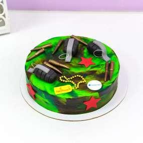 Зеленый торт норопласт