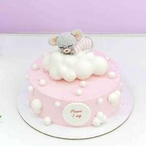 Торт с мышонком