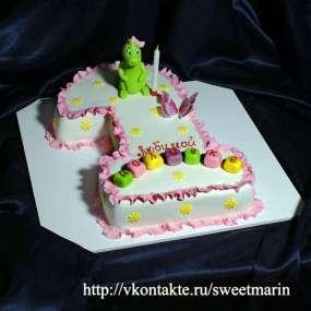 "Торт ""Годик дракоше"""