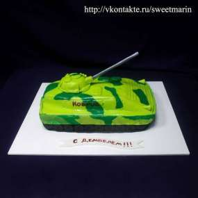 "Торт ""Танк"" №1"