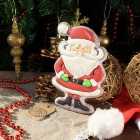 Имбирный Пряник Санта Клаус