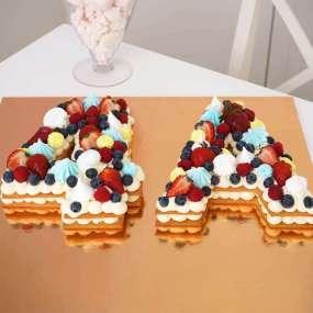 Торт в форме цифры