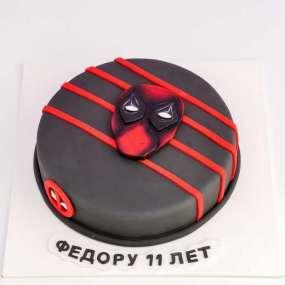 Торт  с Дэдпулом