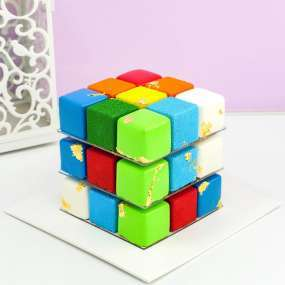 Торт кубик рубика