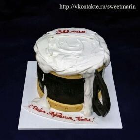 Торт «Кружка пива»