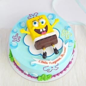 "Торт ""Спанч Боб "" 2 кг"