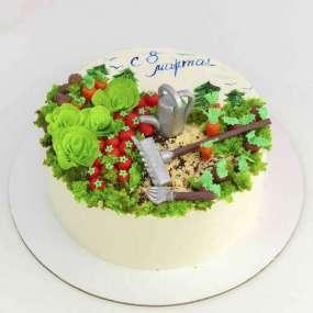 Торт с огородом