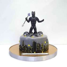 Торт черная пантера
