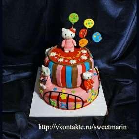 """Торт """"Хелло Китти (Hello Kitty)"""""""