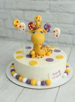 """Торт """"С жирафом"""""""
