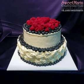 """Торт """"Ягодная элегантность"""""""