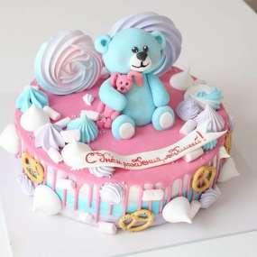 """Торт """"С мишкой"""" №2"""