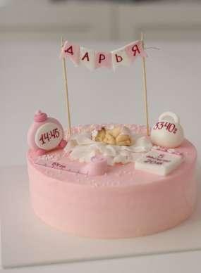 """Торт """"На рождение ребенка"""""""
