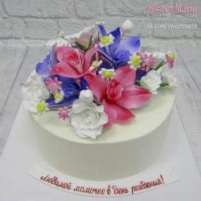 """Торт """"Букет цветов"""""""