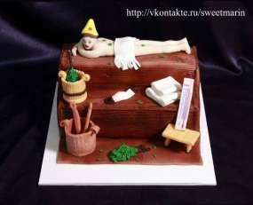 """Торт """"Банька"""""""