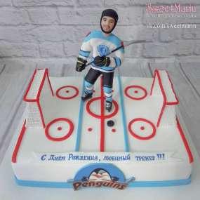 """Торт """"Для хоккеиста"""""""
