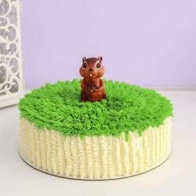 Торт с бурундуком