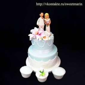 "Торт ""Летняя свадьба"""