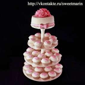 "Торт ""Классика в розовом"""